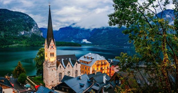 Alpien dorp hallstatt