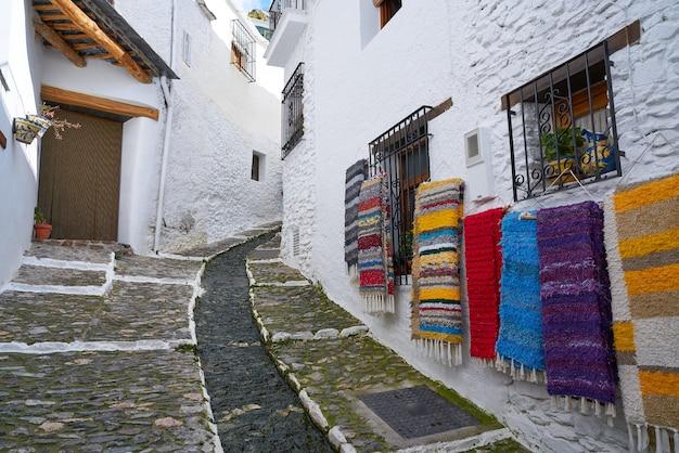 Alpujarras straat tapijten pampaneira granada