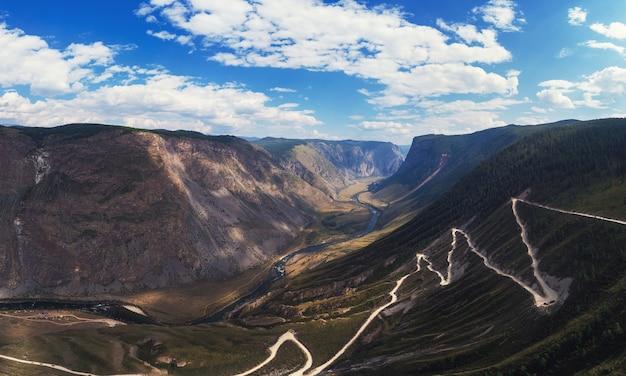 Altai bergwegpas