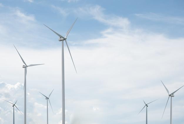 Alternatieve energieopwekking met windenergie