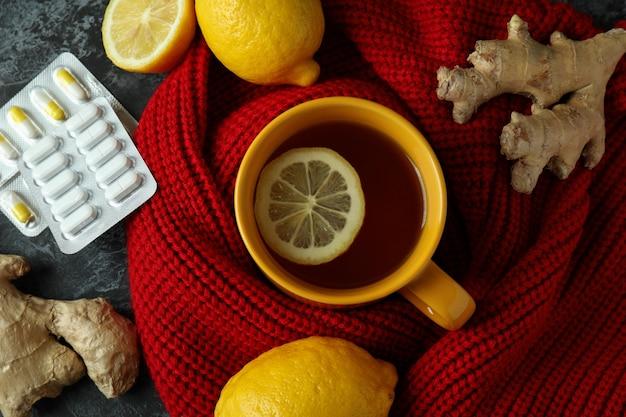 Alternatieve koude behandeling, bovenaanzicht