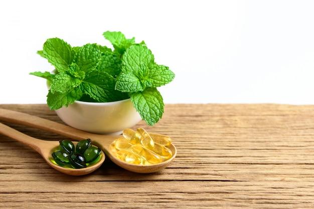 Alternatieve kruidengeneeskunde, vitamine en supplementen van natuurlijke