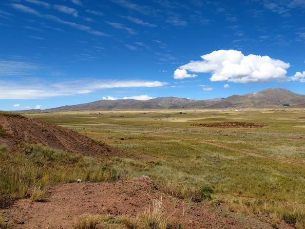 Altiplano in bolivia, zuid-amerika