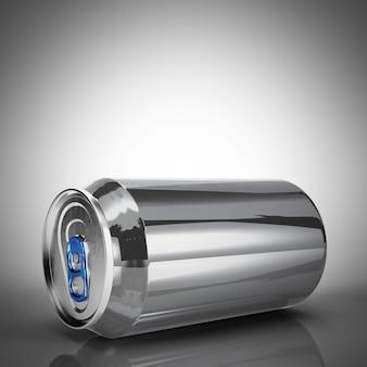 Aluminium bier of frisdrank