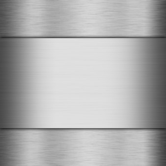 Aluminium geborsteld metaal