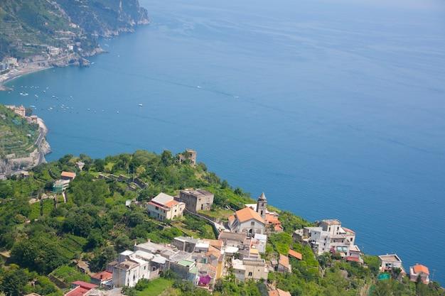 Amalfikust italië baai