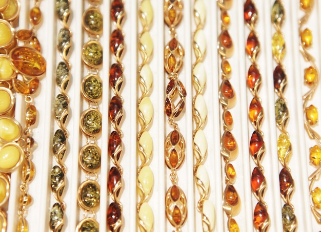 Amber juwelen