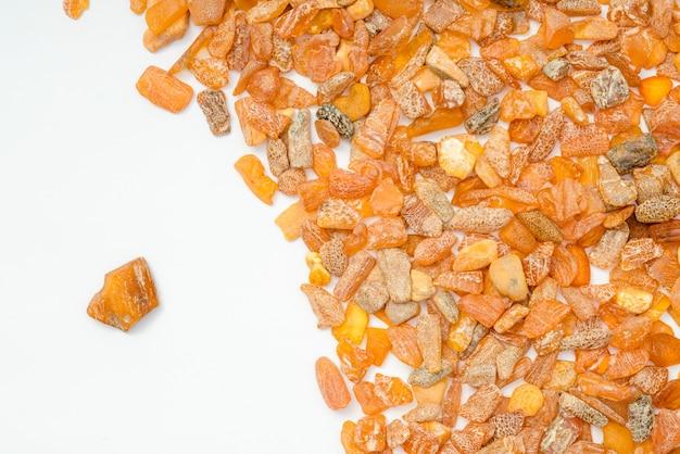 Amberstenen uit de oostzee.