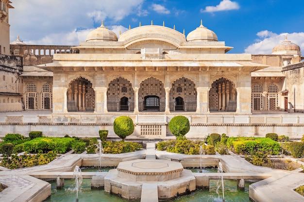 Amer fort in de buurt van jaipur