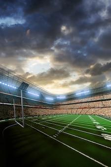 Amerikaans voetbal voetbalstadion