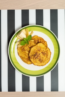 Amerikaanse bananenpannenkoeken