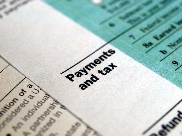 Amerikaanse belastingformulieren