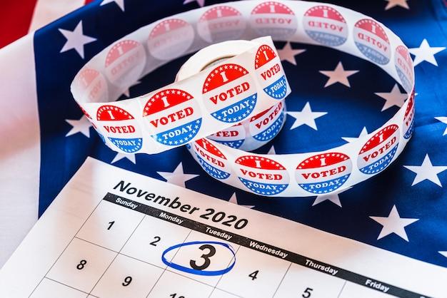 Amerikaanse burgers hebben een stemplicht bij presidentsverkiezingen.