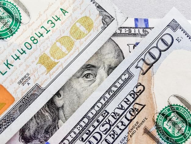 Amerikaanse dollarbankbiljetten