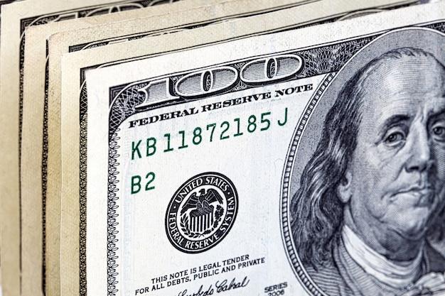 Amerikaanse dollars, een achtergrond