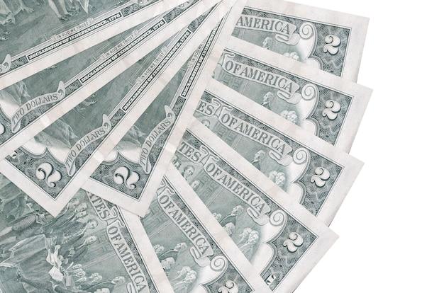 Amerikaanse dollarsrekeningen liggen geïsoleerd