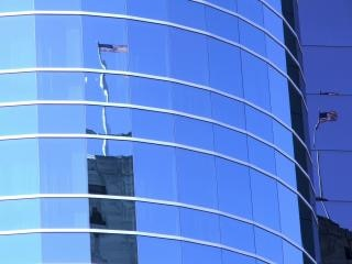 Amerikaanse vlag reflectie