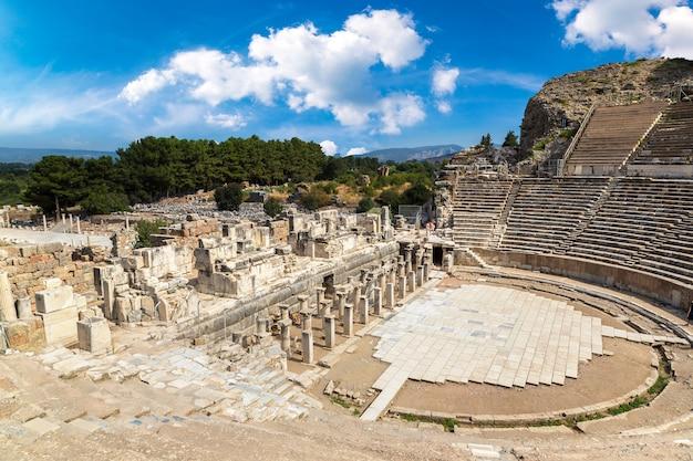 Amfitheater (coliseum) in ephesus