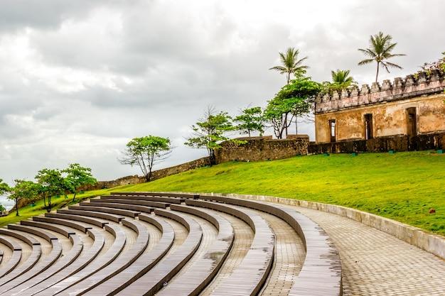 Amfitheater fortaleza san felipe, puerta plata dominicaanse republiek