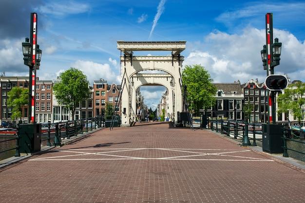 Amsterdam - juli 6: de magere brug (