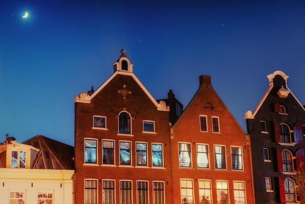 Amsterdam - nederland .vulytsya in het historische centrum van amst