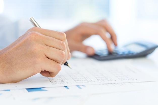 Analyse van financiële gegevens.
