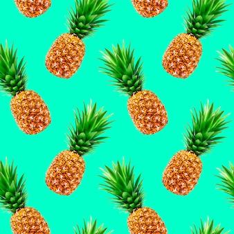 Ananas naadloos patroon