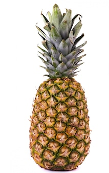 Ananas op wit