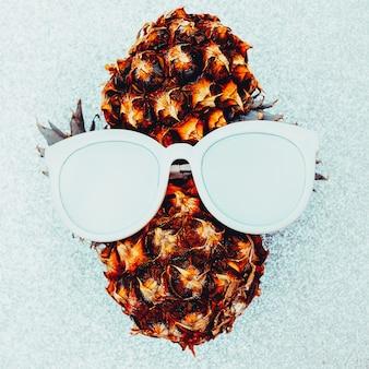 Ananas persoon minimal art idee