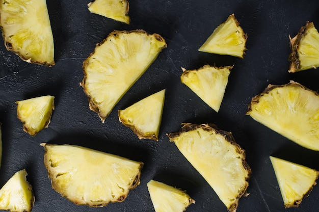 Ananas plakjes