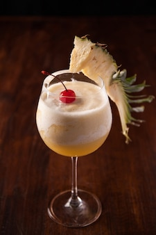 Ananassmoothie, ananasfrappe
