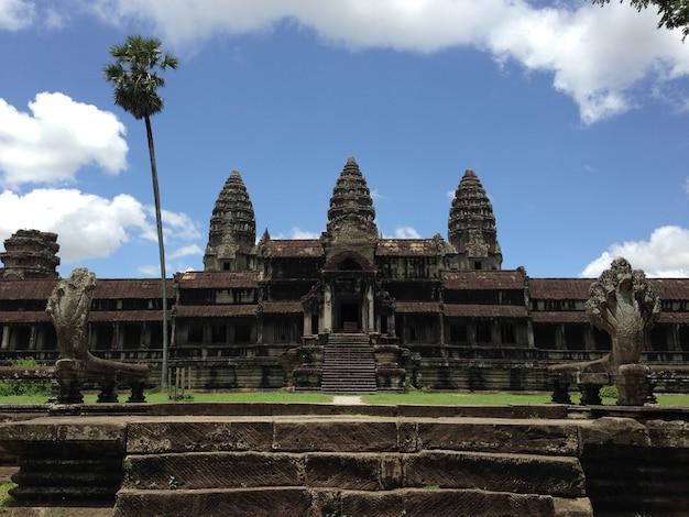 Anckor paleizen, siem reap, camboda. prachtig paradijs.