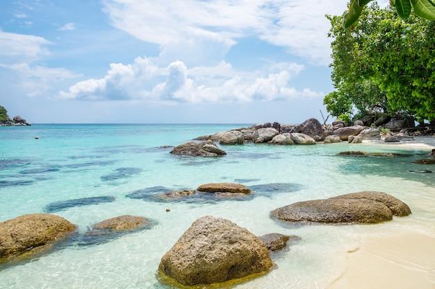 Andaman kristal zee wit zandstrand