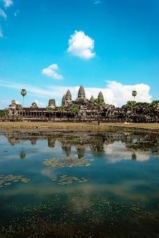 Angkor wat in cambodja