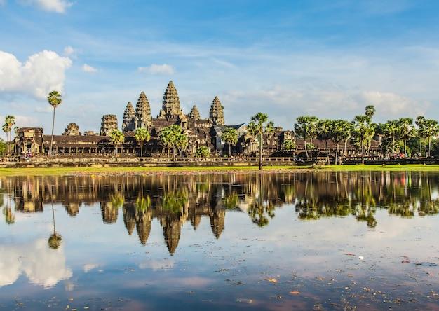 Angkor wat, oud kasteel in cambodja