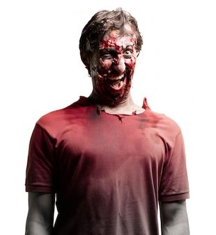 Angstaanjagende zombie