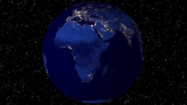 Animatie met satellietbeelden (nasa).