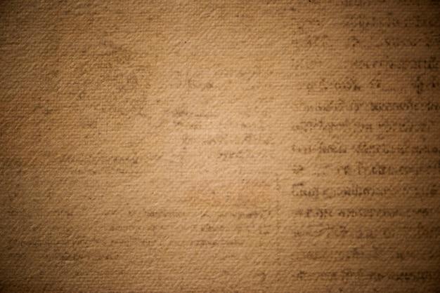 Antiek bruin geweven papier