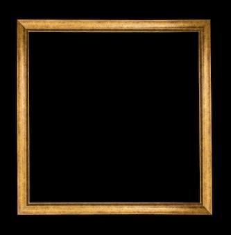 Antiek frame op zwarte achtergrond