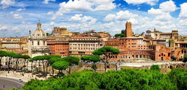 Antiek rome, de markt van trajanus