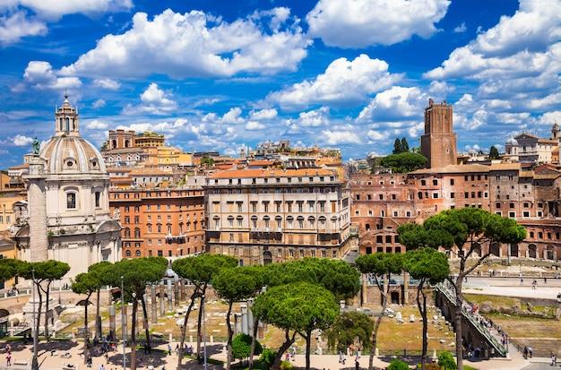 Antiek rome, piazza venezia