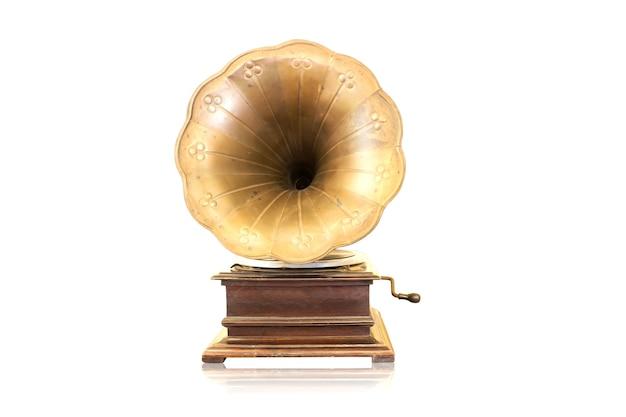 Antieke fonograaf
