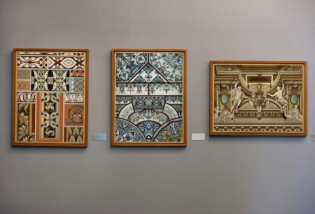 Antieke kunst galerij concept