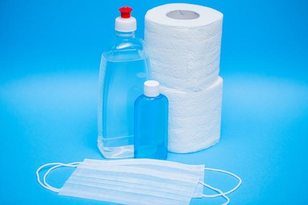 Antiseptisch voor persoonlijke bescherming en het belang van bacteriën op handen en voorwerpen