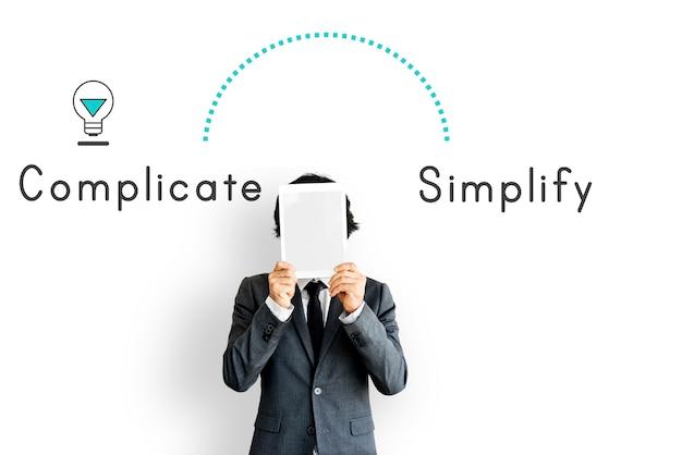 Antoniem tegenover compliceren simplify simplly complex