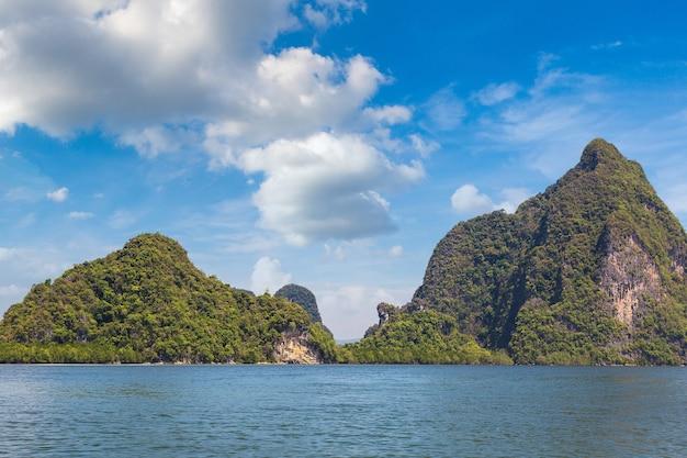Ao phang nga nationaal park, thailand