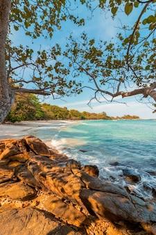 Ao wai strand, koh samet eiland.