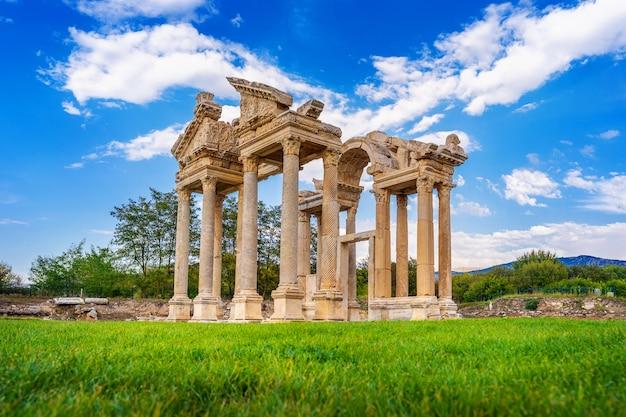 Aphrodisias oude stad in turkije.