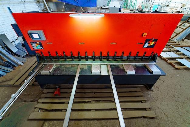 Apparatuur van fabriek in het proces.