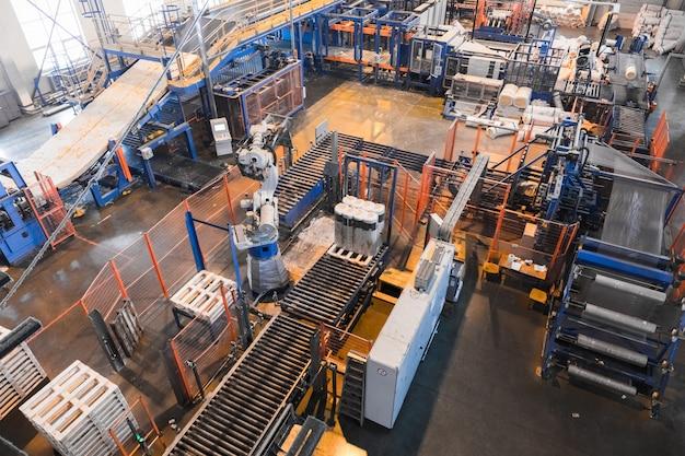 Apparatuur voor de productie van glasvezel bij de productie